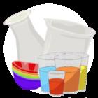 Лабораторная посуда<br> (8 эл.)